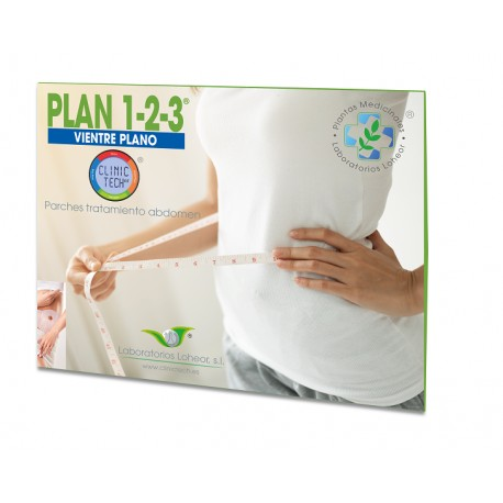 Parche Adelgazante Vientre Plano Y Caderas Clinic Tech