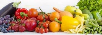 El color de los vegetales y sus beneficios
