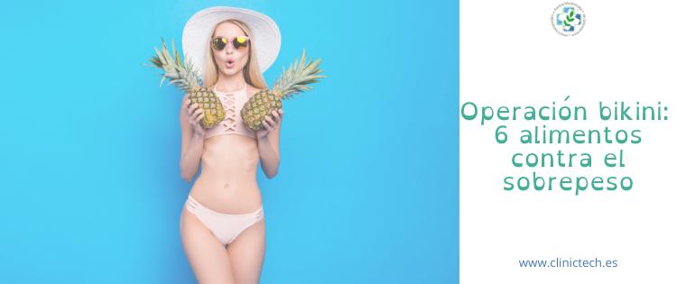 Operación bikini: 6 alimentos contra el sobrepeso