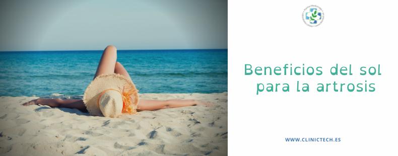 Beneficios del sol para la artrosis