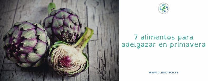 7 alimentos para adelgazar en primavera